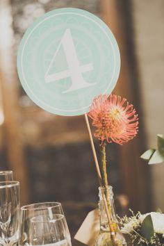 Megan & Waldo wedding decor by Love And Grace. Photo's by Blackframe Photography.