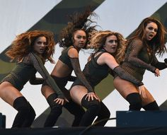 The Little Mix ladies brought their trademark routines to Weston Park on Day 1 of V Festival Little Mix 2016, Little Mix Girls, Weston Park, Litte Mix, Photos 2016, Jesy Nelson, Perrie Edwards, Girl Bands, These Girls