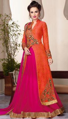 anarkali suit by brijraj #fashion