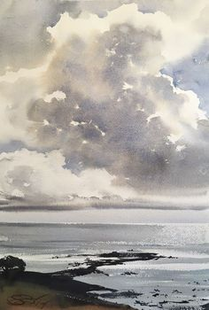 An Introduction to Wet-Into-Wet Watercolors – Arts Benicia
