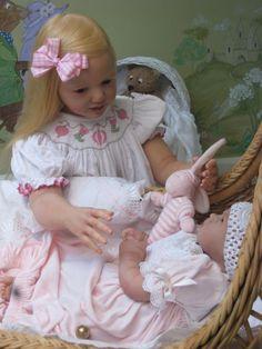 Nicole Prototype with baby Sofia Madelina