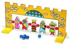 Tir aux billes du Moyen âge : le jeu de billes follement amusant !