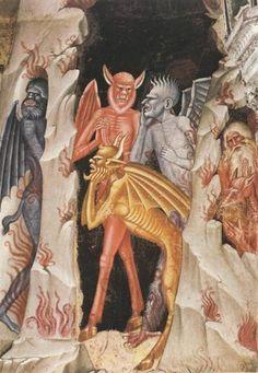 Detail from a Fresco era painting by Andrea di Bonaiuto da Firenze {spanish chapel ca.1370}