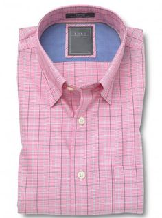 Hulse Hidden Button Down Collar Casual Shirt