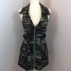LIP SERVICE Glamouflage short dress #51-71