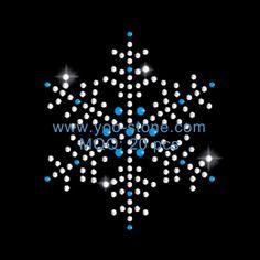 The Most Popular Snowflake Rhinestone Transfer Designs