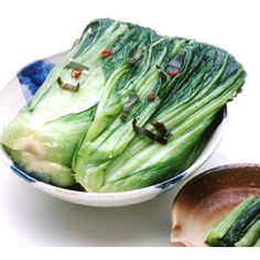 Boiled cabbage.  Looks like bok choy.