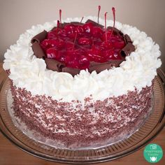 Black Forest Cake | SnapHappy Foodie