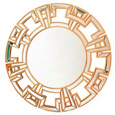 I pinned this Zola Wall Mirror in Gold from the Abbyson Living event at Joss and Main!