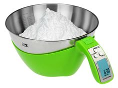 The Kalorik iSense Food Measuring Cup is designed to simplify the task of volume measuring, weighing your ingredients as well as doing quick conversions for you.