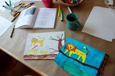 Drawing with Kids Lion Lesson 2 21