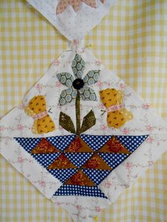 "Supergoof Quilts: ""En Sweet William Meisjes,..."""