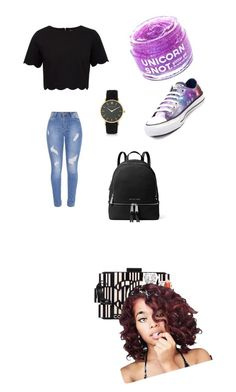 """My First Polyvore Outfit"" by mayline-78 ❤ liked on Polyvore featuring Chloé, Chanel, Judith Jack, Larsson & Jennings, Barry M, Alexander Wang, Ted Baker, Converse, FCTRY and MICHAEL Michael Kors"