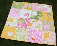 Diary of a Quilter - a quilt blog: Off-Set Square Block Quilt Tutorial http://www.diaryofaquilter.com/2009/06/mr-roboto-or-off-set-square-block.html