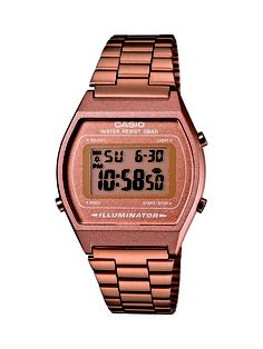 Acaban de llegar los nuevos relojes retro de Casio, en marrón metalizado. Geniales!!!