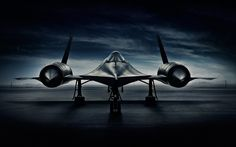 Advertising photographer Blair Bunting photographs the SR-71 Blackbird, one of the fastest planes ever made.