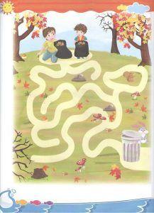 Free Printable Maze Worksheets for Kids - Preschool and Kindergarten Printable Mazes, Free Printables, Maze Worksheet, Autumn Crafts, Worksheets For Kids, Primary School, Kindergarten, Preschool, Charlotte