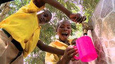 """We could empty half of all the beds in all the hospitals in the world by just giving people clean water."" 