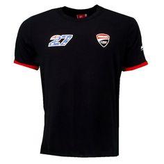 Casey Stoner 27 Moto GP Ducati T-shirt Black Official 2016