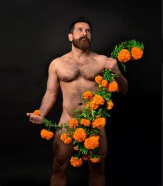 ❤️ Bloom Where Youre Planted, S Man, Beard Styles, Floral Flowers, Statue, Beards, Painting, Art, Connect