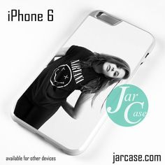 Chloe Grace Moretz Wearing Nirvana Shirt Phone case for iPhone 6 and other iPhone devices