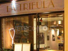 Saboreando la cocina del restaurante italiano piemontese La Trifula en Barcelona. Su cocina, te espera en https://www.quetecomo.es/Barcelona-restaurante-italiano-La-Trifula-carrer-d-elkano-69