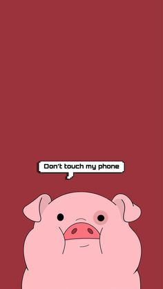 ✔ Cute Backgrounds With Quotes Funny Iphone Wallpaper Quotes Funny, Anime Backgrounds Wallpapers, Cartoon Wallpaper Iphone, Disney Phone Wallpaper, Cute Cartoon Wallpapers, Cute Wallpaper Backgrounds, Iphone Wallpapers, Crazy Wallpaper, Pig Wallpaper
