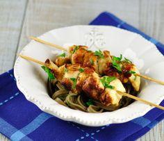 Brochettes de poulet mariné à l'ail et au citron - Et si c'était bon...