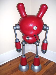 Slobot Hazmat 6 – 36″ Kidrobot Dunny