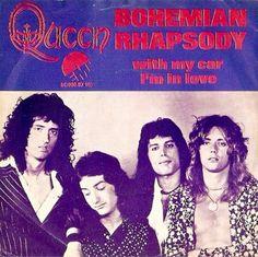Vanaf 10 januari 1975 stond 'Bohemian Rhapsody' drie weken bovenaan de hitlijsten :)