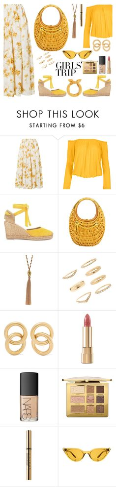 """Senza titolo #7566"" by waikiki24 ❤ liked on Polyvore featuring Brock Collection, Venus, Forever 21, Laura Lombardi, Dolce&Gabbana, NARS Cosmetics, Too Faced Cosmetics, John Lewis, Illesteva and girlstrip"