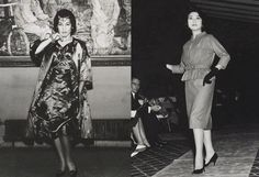 First Fashion Show Nora Noh , Seoul, Korea 1956   Photographer Kim Suk Bae