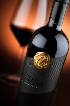 wine label designs The Project Via Aristotelis Barrel Selection is the newest and most precious gem