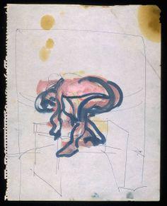 Francis Bacon - Bending Figure, No. 2 c.1957-61
