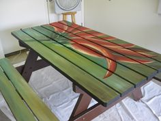 Ordinaire Beautiful Example Of Painted Table!