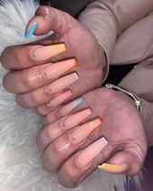 """Nails By Marii @mariiso_dopee on Instagram: """"Pink & White Ombré Set, TURNED N... #Instagram #Marii #mariisodopee #Nails #ombre #pink #Set #TURNED #White #whitetipnails White Tip Nails, Nail Tips, Pink White, Instagram, French Tips"""