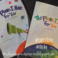 Giveaway:  The Plans I Have For You Devotional and Journal Set This Day Has Great Potential