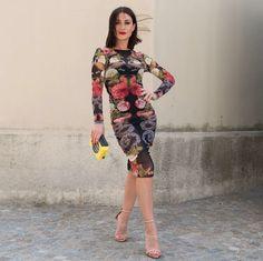 Tatto #dress www.modablogger.eu #fashionblogger #fashion #abito #style #glam #chic