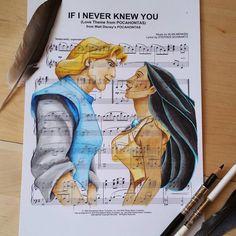 Pocahontas - If I never knew you