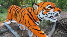 Tiger Lego creation.