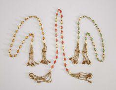 """Katherine's Collection La Fete Boheme Collection Twelve Assort 34"""" Bohemian Necklace Swags Free Ship"""
