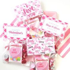 Treat Bags, 7 Homemade Valentine's Day Sweets and Treats