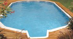 Oval Crestwood Pool With Stairs Pool Oval Pool Oval