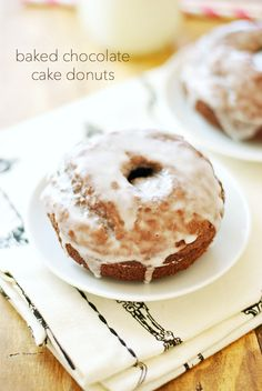 These baked chocolate cake donuts are so easy to make and incredibly delicious with absolutely no frying involved.