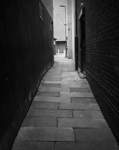 Old Guildhall Yard...leading to Doncaster police station...