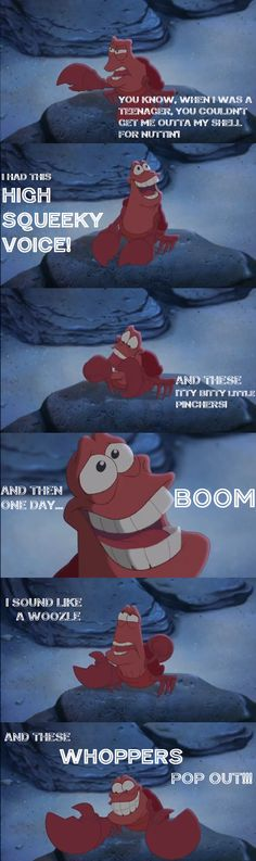 """The Little Mermaid II: Return to the Sea"" - Sebastian"