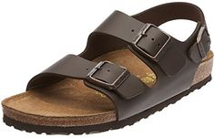 Birkenstock Milano Natural Oiled Leather Womens HeelStrap Sandal Dark Brown 37 M EU  6 to 65 US Women * Find out more about the great product at the image link.