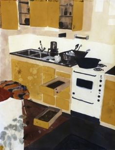 KARIN MAMMA ANDERSSON KITCHEN painting