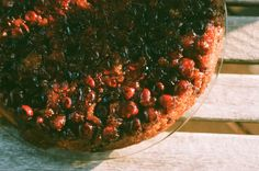 Cranberry Upside Down Cake | Nothing in the House