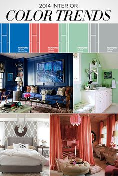 LUX Home: 2014 Interior Color Trends